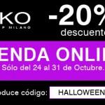 20% Descuento en Kiko por Halloween